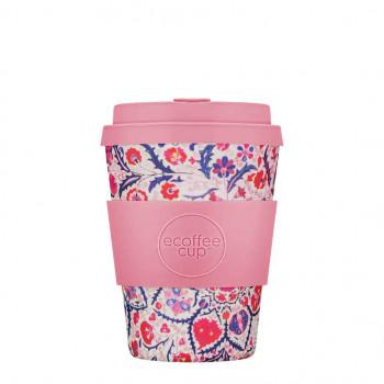 KUBEK Z WŁÓKNA BAMBUSOWEGO I KUKURYDZIANEGO PAPA ROSA 350 ml - ECOFFEE CUP