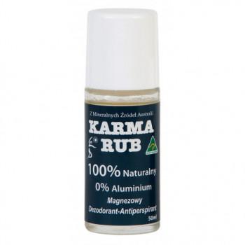 DEZODORANT MAGNEZOWY 50 ml - KARMA RUB