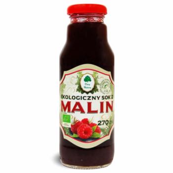 SOK MALINOWY BIO 270 ml - DARY NATURY