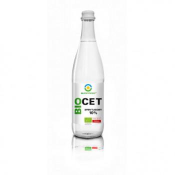 OCET SPIRYTUSOWY 10 % BEZGLUTENOWY BIO 500 ml - BIO FOOD