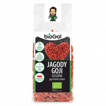 JAGODY GOJI SUSZONE BIO 100 g - BIOGOL