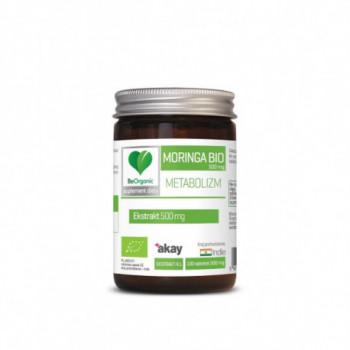 MORINGA EKSTRAKT 4:1 BIO 100 TABLETEK (500 mg) - BE ORGANIC