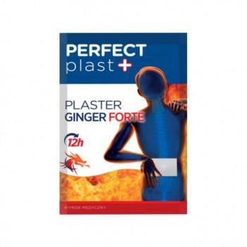 PLASTER ROZGRZEWAJĄCY GINGER FORTE 1 szt. (12 x 18 cm) - PERFECT PLAST