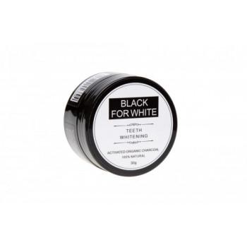 WĘGIEL AKTYWNY DO WYBIELANIA ZĘBÓW 30 g - BLACK FOR WHITE