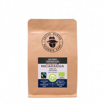 KAWA ZIARNISTA ARABICA 100 % NIKARAGUA FAIR TRADE BIO 250 g - COFFEE HUNTER
