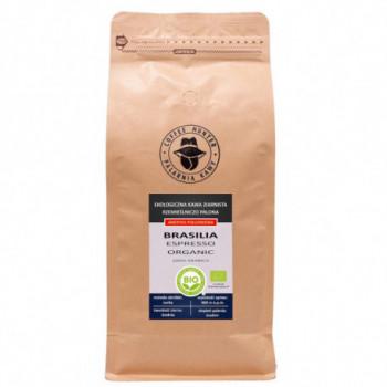 KAWA ZIARNISTA ARABICA 100 % BRAZYLIA FAIR TRADE BIO 1 kg - COFFEE HUNTER