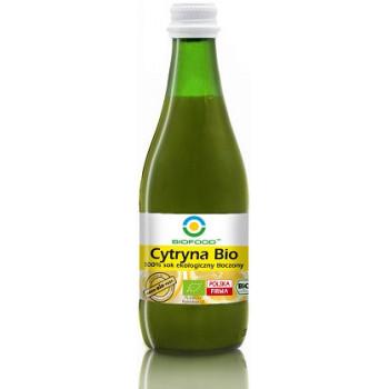 SOK Z CYTRYN NFC BEZGLUTENOWY BIO 300 ml - BIO FOOD