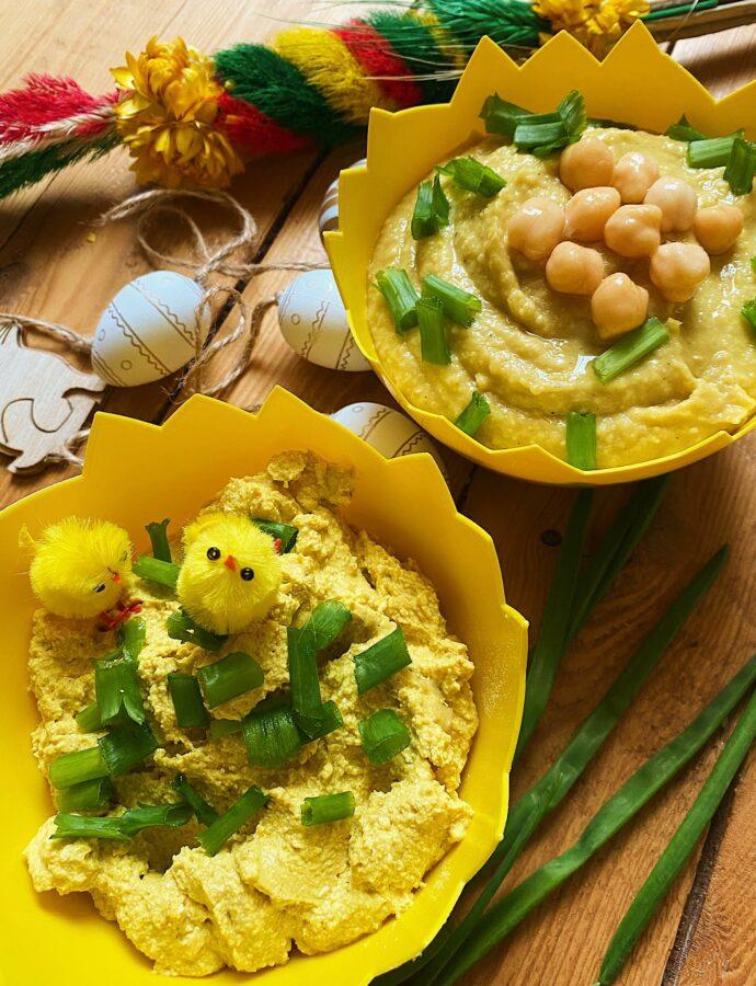 Zabezpieczony: Pasta jajeczna bez jajek na dwa sposoby