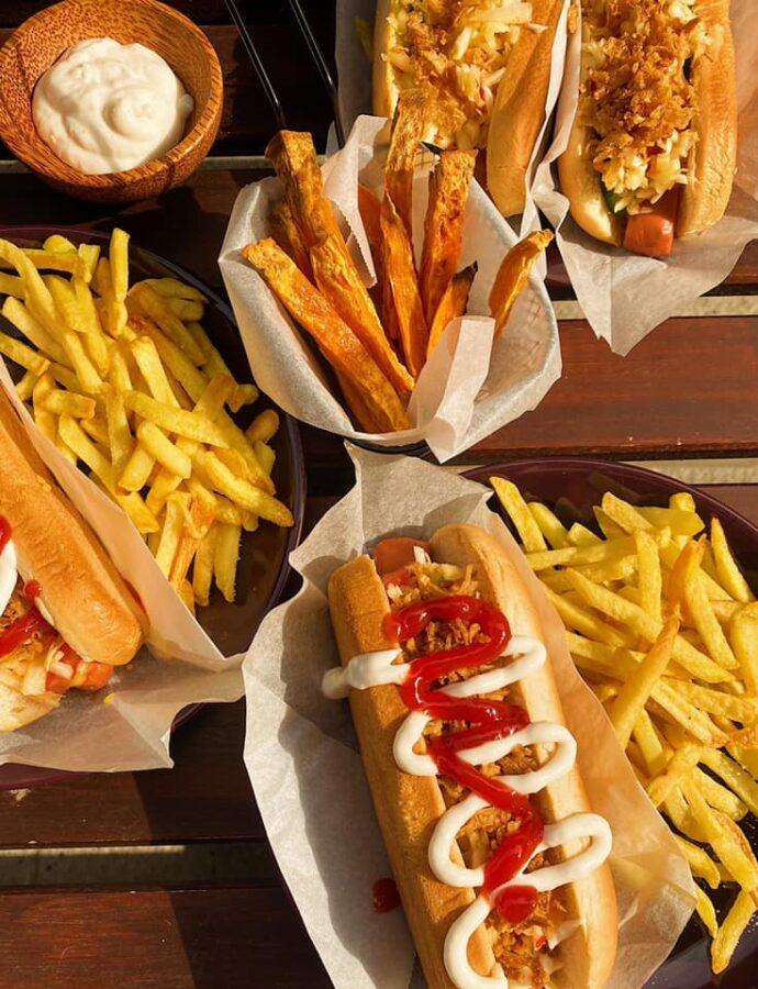Wypasione wegańskie hot-dogi